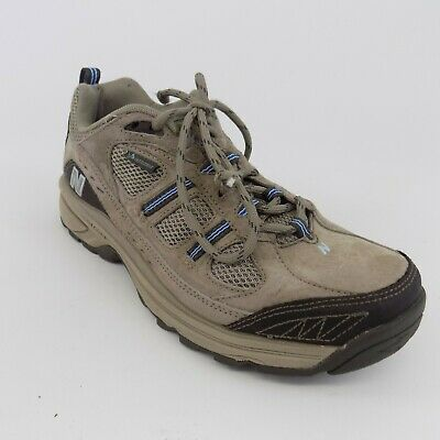 NEW BALANCE 646 WW646BR Size 8 B Brown Suede Hiking Athletic