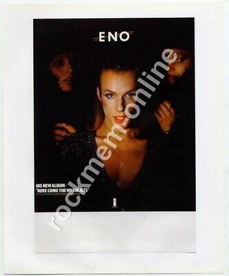 Brian Eno Roxy Music Here Come the Warm Jets 1974 Reproduction Promo Poster