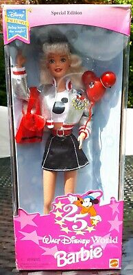 Barbie Mattel Special Edt Walt Disney Excl Mickey Mouse Anniversary Boxed Doll
