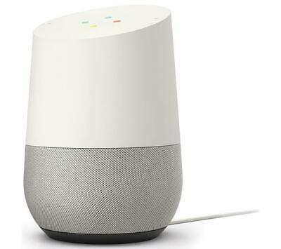 Google Home Voice Activated Smart Assistant - White