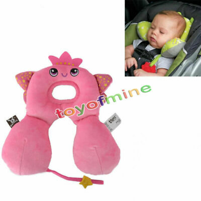 Infant Baby Travel Neck Support Pillow Head Positioner Car Seat Stroller Carrier