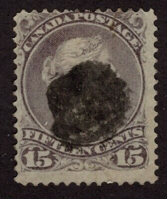 CANADA #29 15c  LARGE QUEEN  ISSUE  FINE