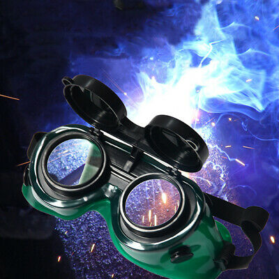 Anti-scratch Welding Goggles With Flip Up Darken Cutting Grinding Safety Glasses
