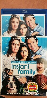 Instant Family Blu-Ray/DVD no digital code