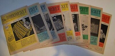 Lot Of 9 Vintage Workbasket Magazines - All 1951 Issues