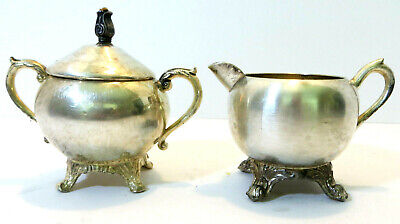 Vintage Rodgers & Bros Sugar & Creamer Set - Marked