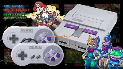 Super Nintendo Classic Mini Edition SNES System - NES - 530+ Games! BRAND NEW