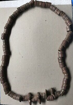 Pre Columbian Ancient Jade Bead Necklace ( 800-1200Ad )