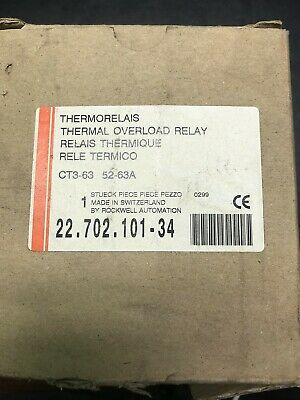 Thermorelais Thermal Overload Relay Ct3-63 52-63A