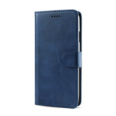 Calf Grain PU Leather Flip Wallet Case Cover Stand Card Holder for Wiko Y60