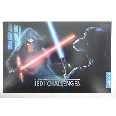 Lenovo ZA390002US Star Wars Jedi Challenges AR Headset with Lightsaber