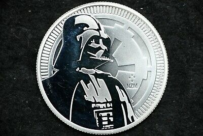 2017//18 NEW ZEALAND MINT STAR WARS BULLION! DARTH VADER//STORMTROOPER