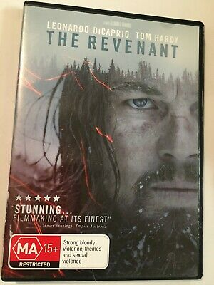 THE REVENANT- DVD - R4 - VGC - LEONARDO DiCAPRIO, TOM HARDY - FREE POST