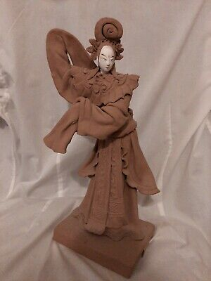Hand Carved Tay Guan Heng Joss Figurine May 1986