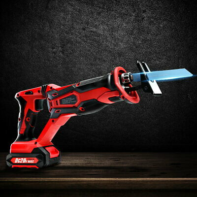 Reciprocating Pneumatic Air Saw Cutting Tool Electric Cordless Double Switch