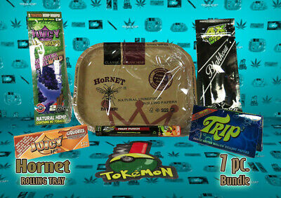 *New* Hornet Metal Rolling Tray Combo pack 7 item bundle  #1 *Free US Shipping*