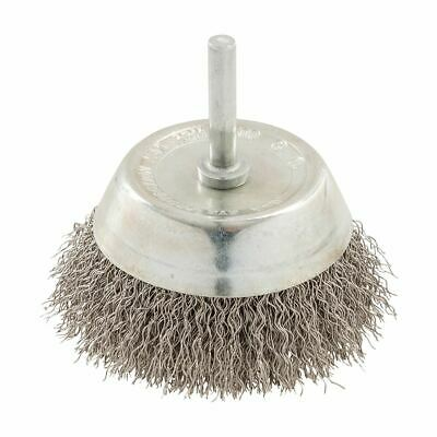 Silverline Rotary Stainless Steel Wire Cup Brush 75mm 409596