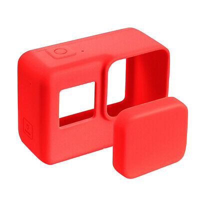 Accessories Silicone Protective Case With Lens Cap Skin for GOPRO Hero 5 6 7