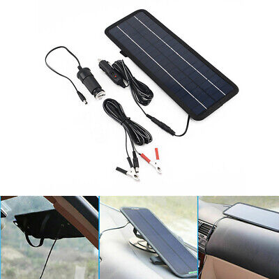 4.5W 12V Car Boat Yacht Solar Panel Trickle Battery Charger Power Supply
