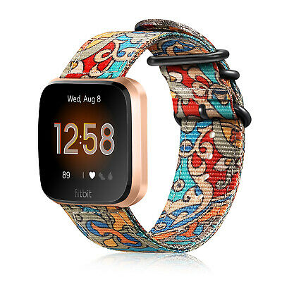 For Fitbit Versa / Versa Lite Soft Silicone Sport Watch Bands Replacement Strap