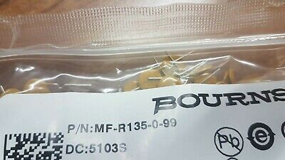 307 X BOURNS MF-R135-0-99 Resettable Fuses - PPTC 1.35A 30V