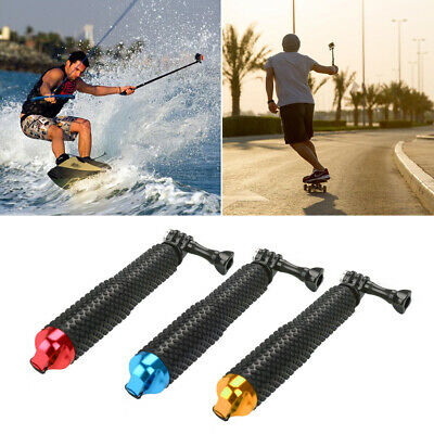 Waterproof Monopod Selfie Stick Pole Handheld 3 Colors for Action Sports Camera