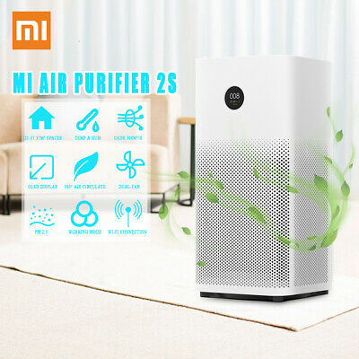 Xiaomi Mi Air Purifier 2S PM 2.5 OLED WiFi Mi Home APP Control Smog Air Cleaner