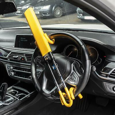 Heavy Duty Steering Wheel Lock High Security Anti Theft Twin Bar Hook for BMW