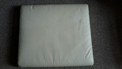 Leather Ikea Poang Footstool Cushion Cover Only Eggshell Colour