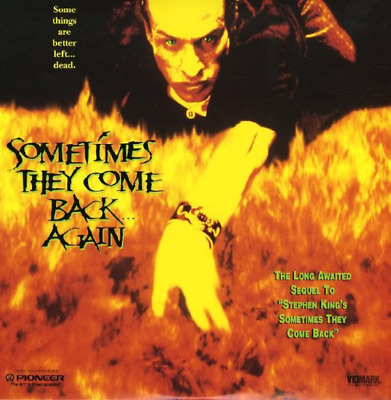 SOMETIMES THEY COME BACK AGAIN CC NEUF N&S NTSC LASERDISC Michael Gross