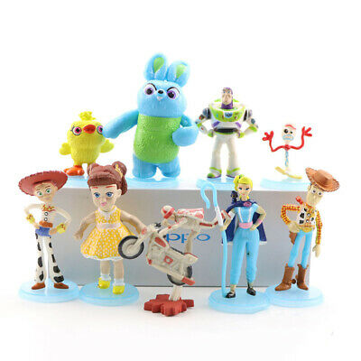NEW Toy Story 4 Movie 9 Sets Figure  With Character Forky and Bonus Great Gifts