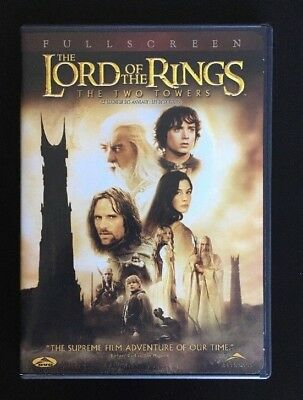 The Lord of the Rings: The Two Towers (DVD, 2003, 2-Disc Set, Widescreen Two Dis
