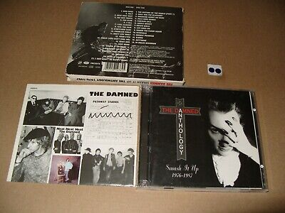 The Damned Smash It Up: the Anthology 1976-1987 cds are Ex + condition/Inlays vg