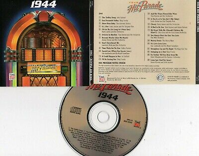Time-Life Music-Your Hit Parade: 1944 Cd (Andrews Sisters/Nat King Cole/Jo Staff