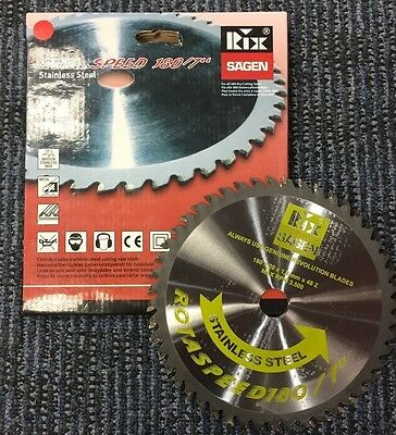 "Rota speed 180/7"" Stainless steel cutting blade 180mm"