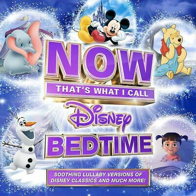 VARIOUS - NOW THAT'S WHAT I CALL DISNEY BEDTIME 2 CD ALBUM SET (Released 2018)