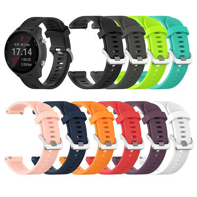 Replacement Soft Silicone Wrist Strap Watch Band Garmin Forerunner 245M/245 Apt