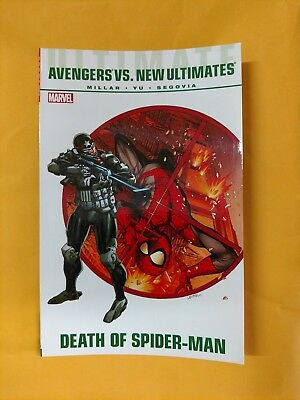 Ultimate Comics Avengers Vs New Ultimates Tpb Marvel (2012) Death Of Spider-Man