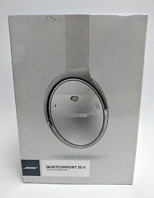 BOSE Quietcomfort 35 II Wireless Noise Cancelling Silver Sealed