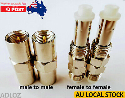 FME to FME  male to male / female to female adapters connectors convertors