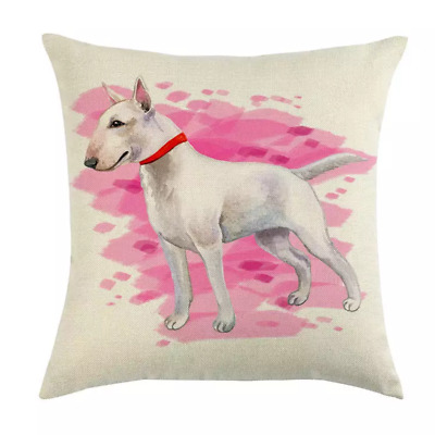 ENGLISH BULL TERRIER Gifts Cushion Cover Assorted Designs Dog Funny Gift Present