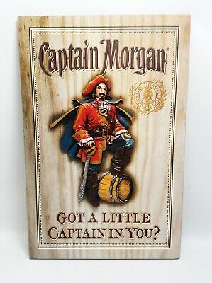 "Captain Morgan ""Got a Little Captain in You?""  Bar Sign"