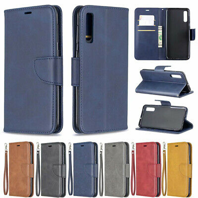 For Samsung Galaxy A10 A20E A30 A40 A50 Leather Magnetic Wallet Flip Case Cover
