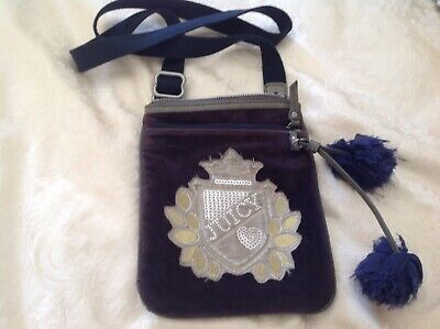 Juicy Couture Ladies/ Girls Navy Cross Body Bag