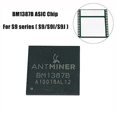 1pc New BM1387B ASIC Chip for Antminer S9  IC replacement ( S9/S9I/S9J ) AK