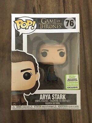Funko Pop! Game of Thrones #76 Arya Stark ECCC 2019 Shared Exclusive.