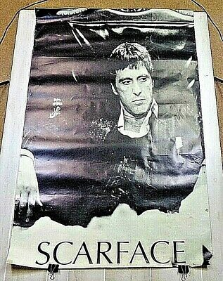 Large Poster Scarface Gangster Mafia Mob 40x60 Inch Vintage Original Poster Rare