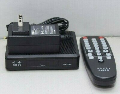 Cisco DTA271HD HDMI Digital Transport Adapter with Remote And Power Adapter NEW