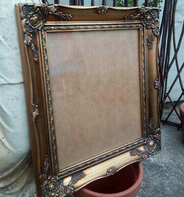 Vintage Antique French Style Gilt Picture Frame 12x10ins (H415)