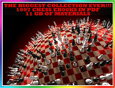 The Biggest Chess Collection Ever - 1097 eB00ks